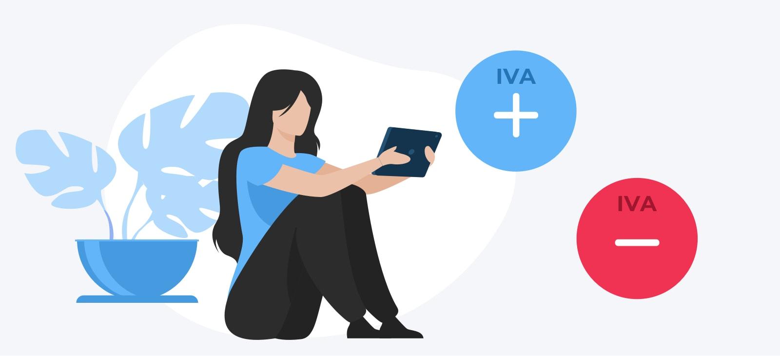 El IVA de los autónomos puede ser positivo o negativo: a pagar o a devolver