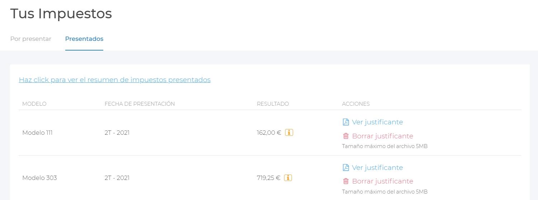 imagen de la plataforma donde puedes ver el calendario fiscal 2021 personalizado