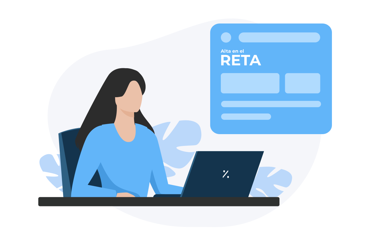 Autónoma dándose de alta en el RETA (regimen de trabajadores autónomos)
